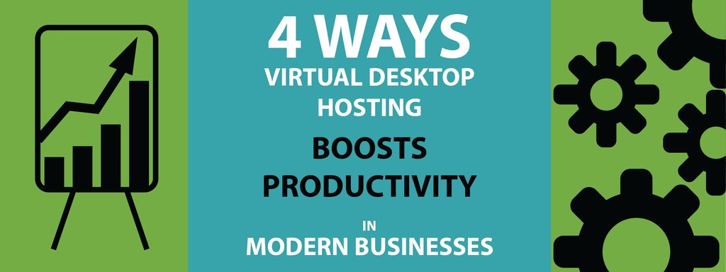 4 Ways Virtual Desktop Hosting Boosts Productivity in Business